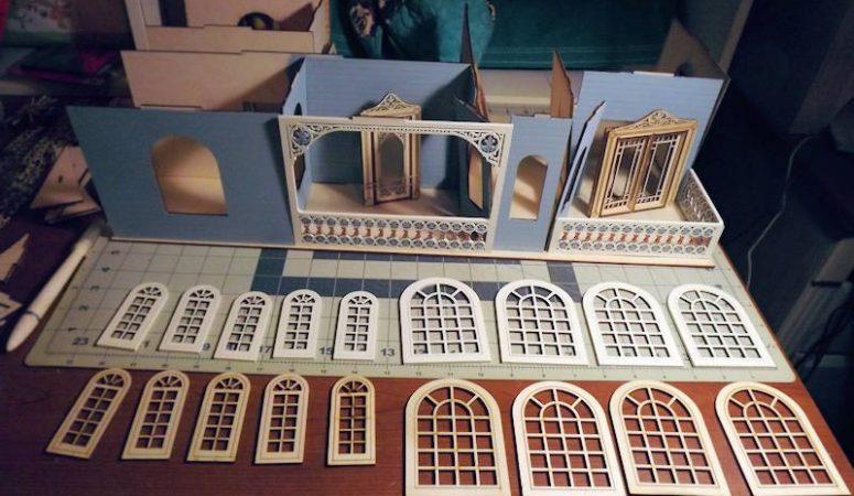 Laser Dollhouse Build Part 3