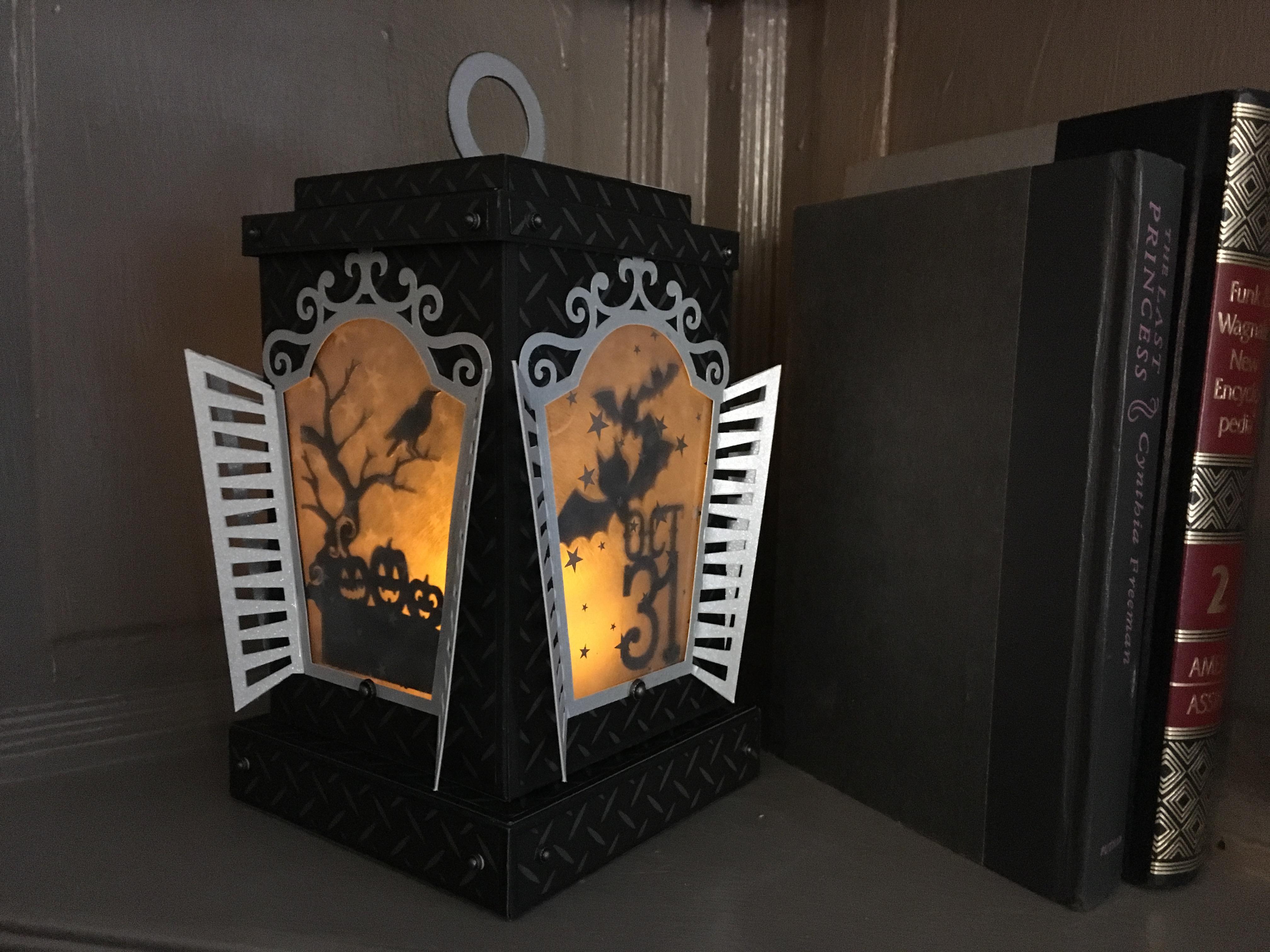 TCC Spooky Lantern created in CDS